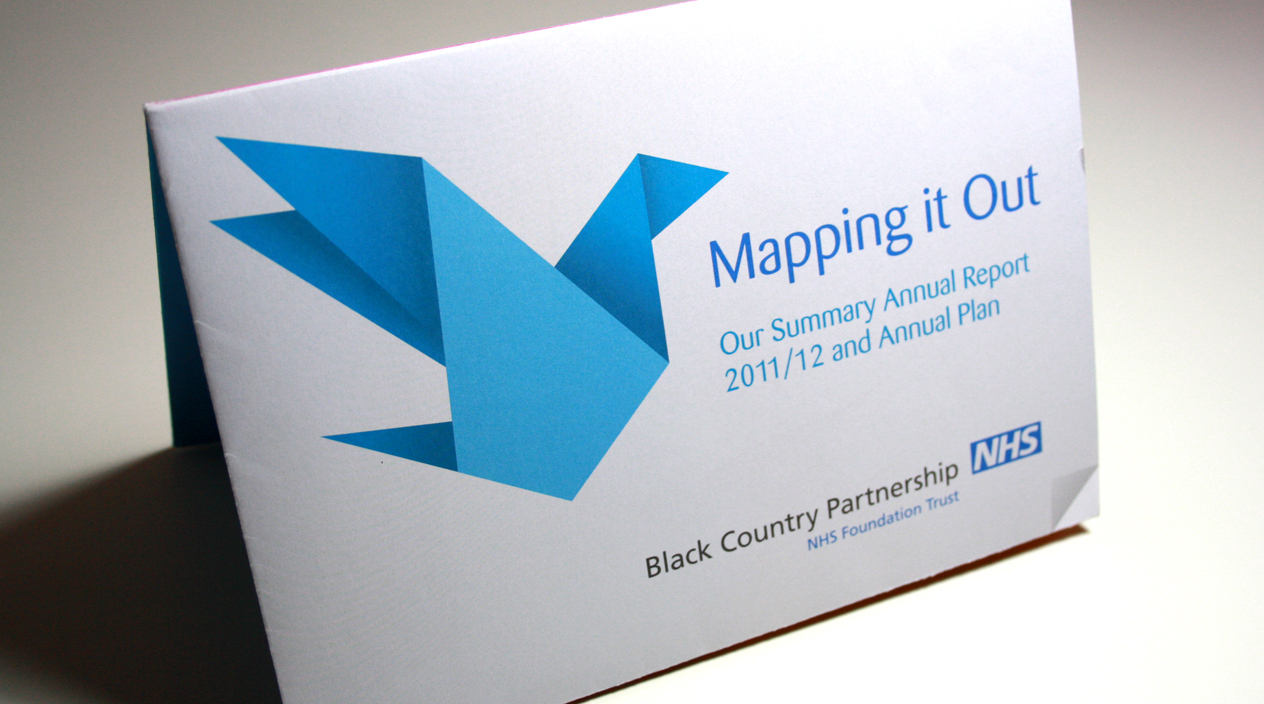 Mapping It Out Annual report Front Cover