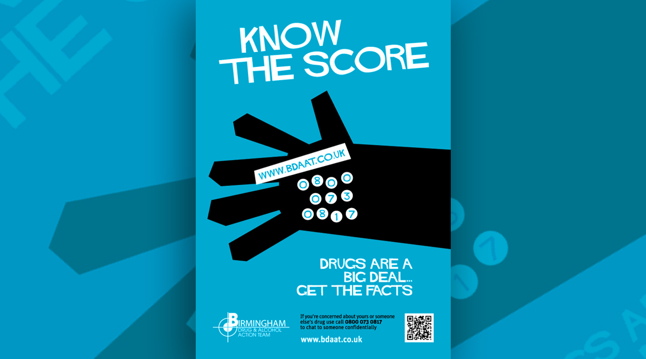 BDAAT Know the Score Poster