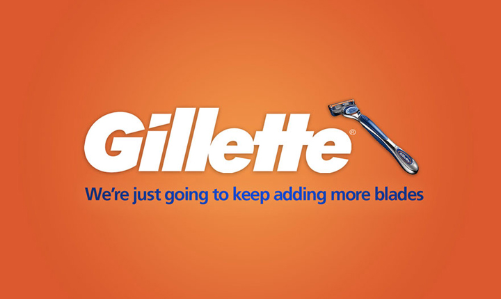 Gillette Hinest Brands