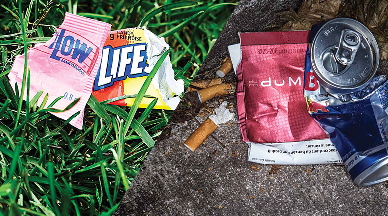 Littering says a lot about you!