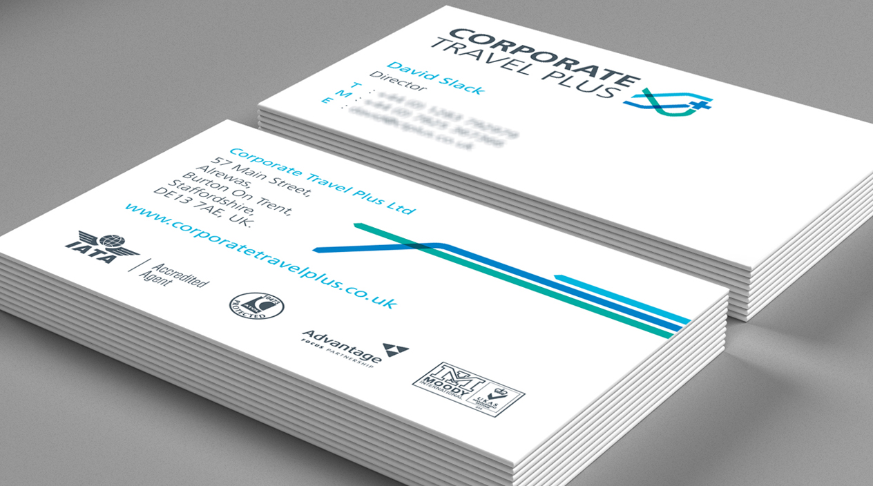 Corporate Travel Plus Business Cards
