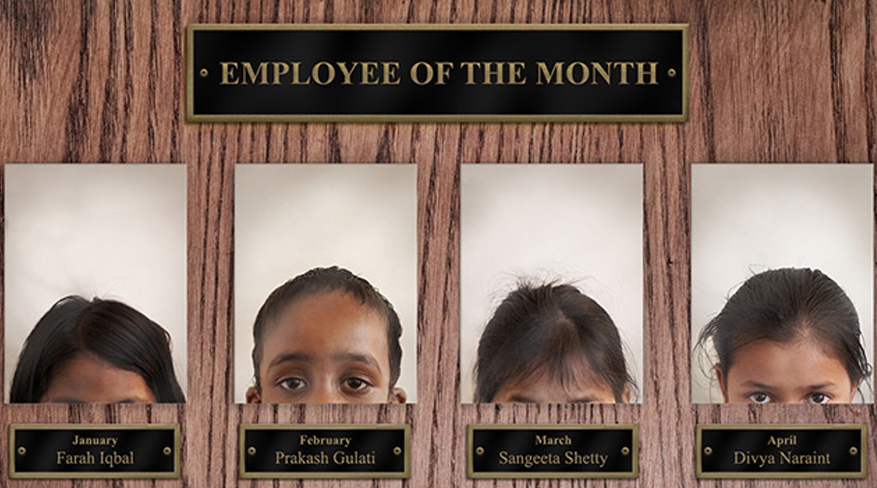 Employee of the Month - Save the Children
