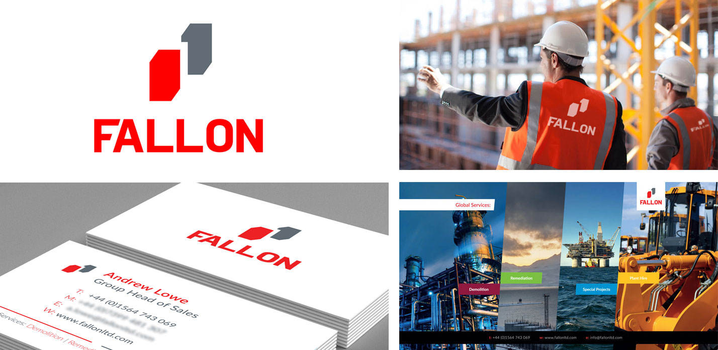Corporate Branding - Fallon Demolition
