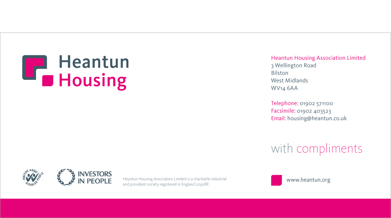 Heantun Housing Compliment Slip
