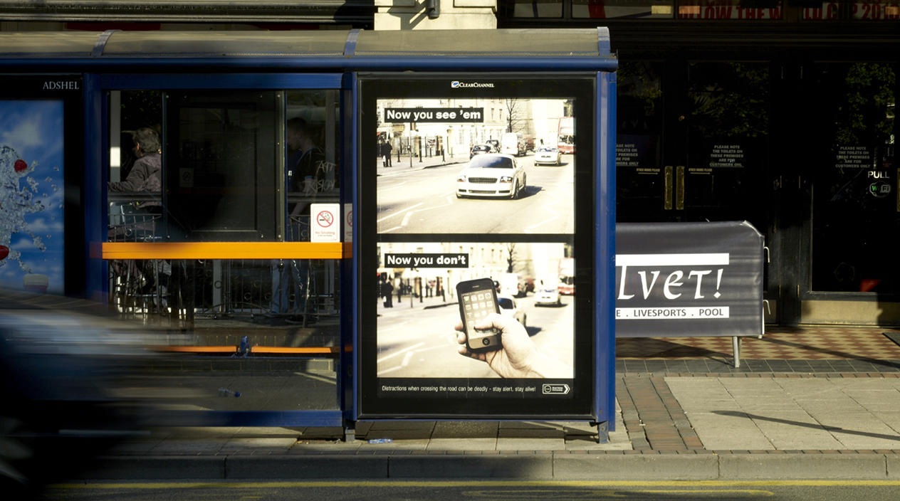 Now You See Em Poster Street View - Birmingham Road Safety Partnership