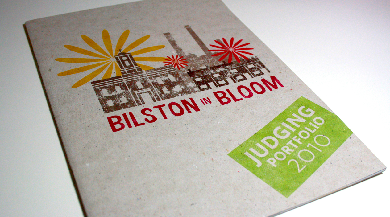 Bilston in Bloom Judging Portfolio Cover