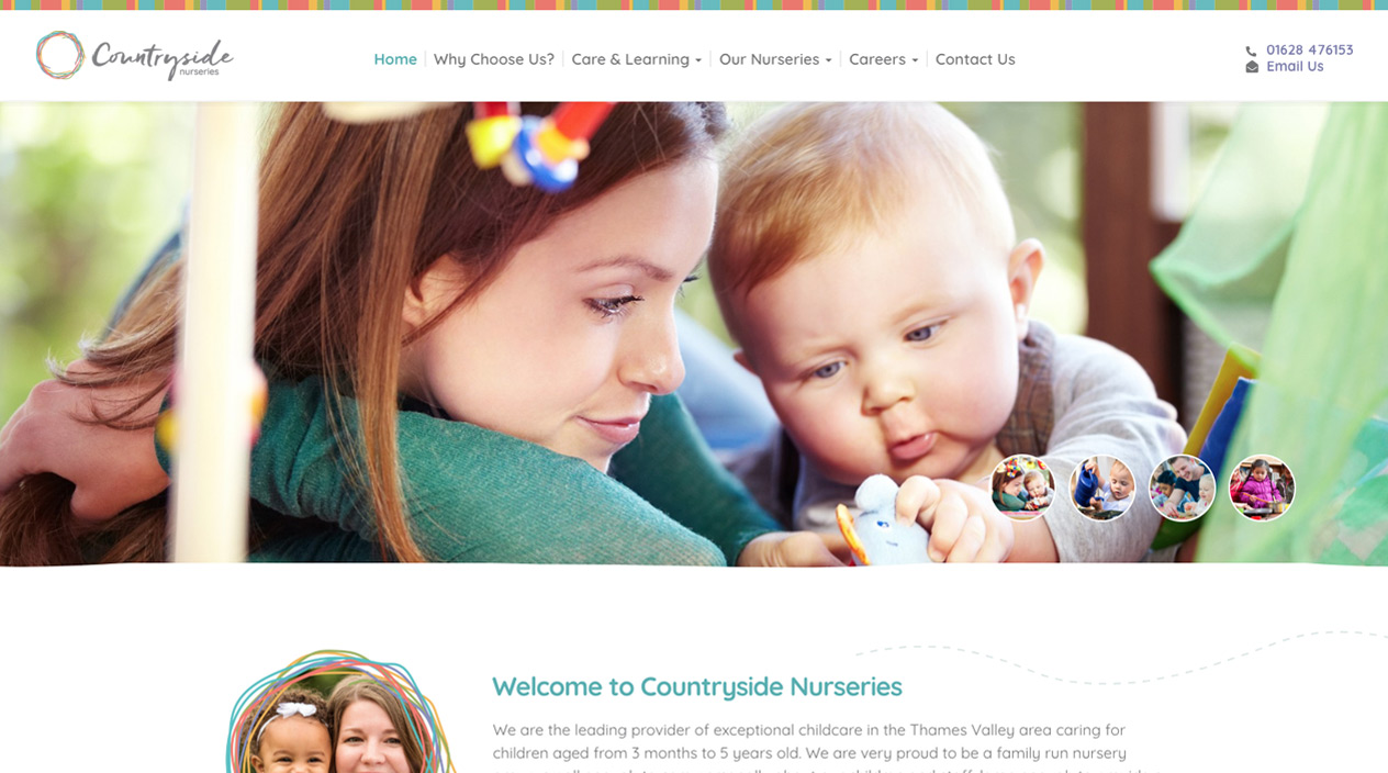 Countryside Nurseries Homepage