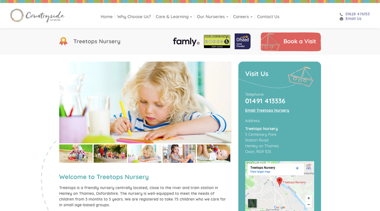 Countryside Nurseries Nursery Page