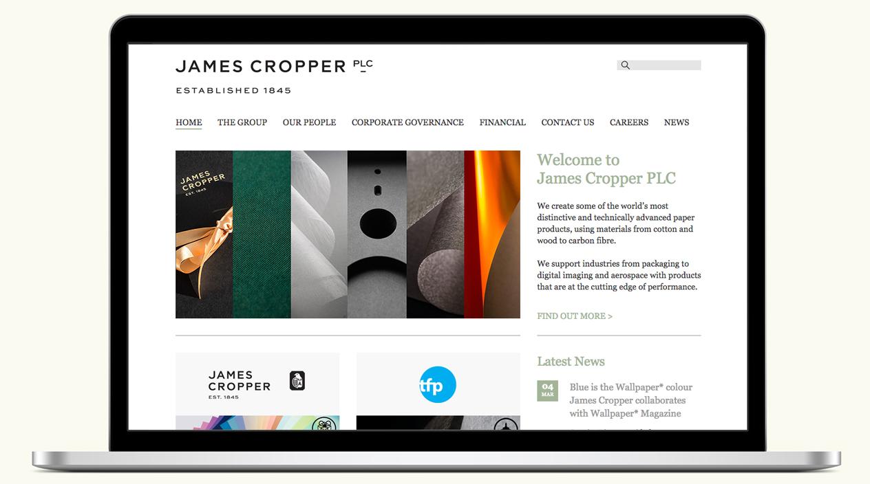 James Cropper PLC New Look