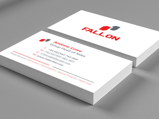 Fallon Group Business Card