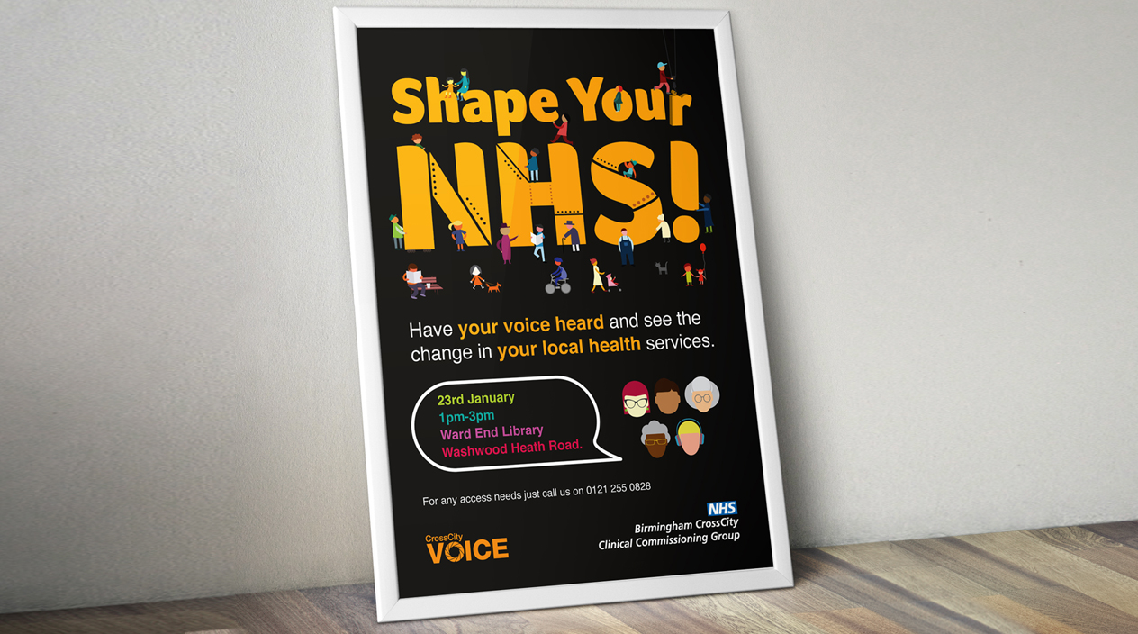 NHS Shape Your NHS Poster