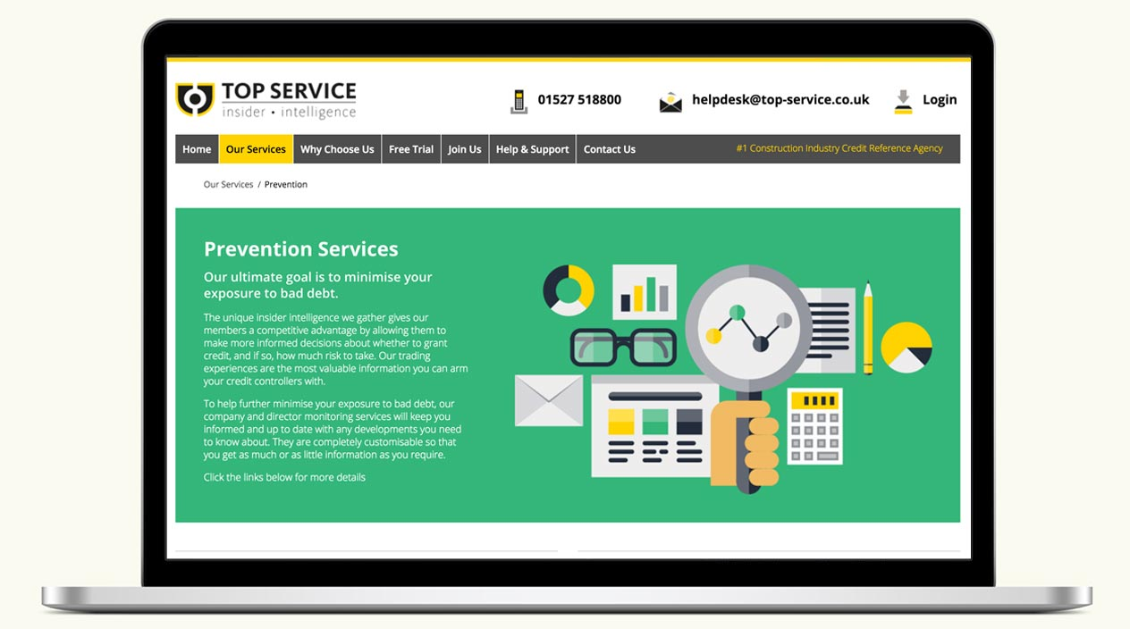 Top Service - Website - Prevention Services