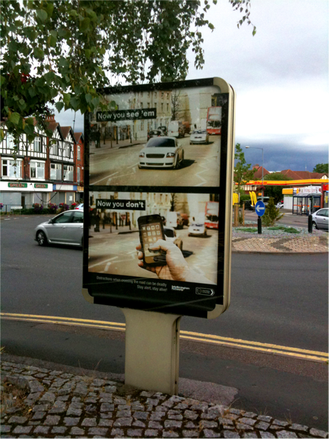 Birmingham Road Safety Poster Campaign