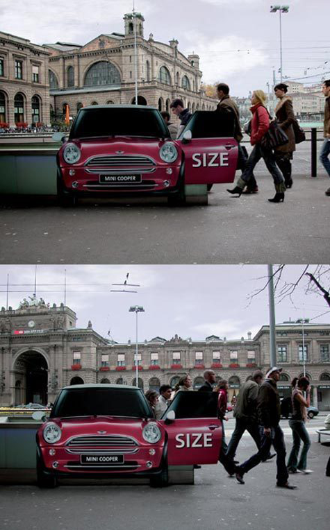 Mini Cooper Ad of the Week